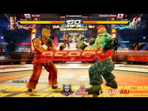NEW TEKKEN GOD? | Noroma (Jack-7) vs Paul (Knee) Tekken 7 World Tour