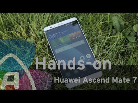 Huawei Ascend Mate 7 Hands-on (Dutch)