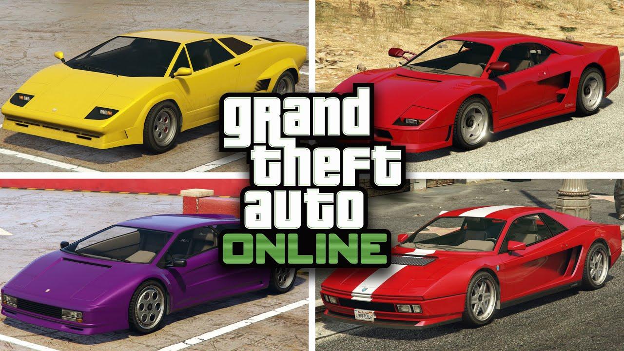 Gta 5 Online Best Sport Classic Cars To Customize In Gta V Online Rare Secret Customization Youtube