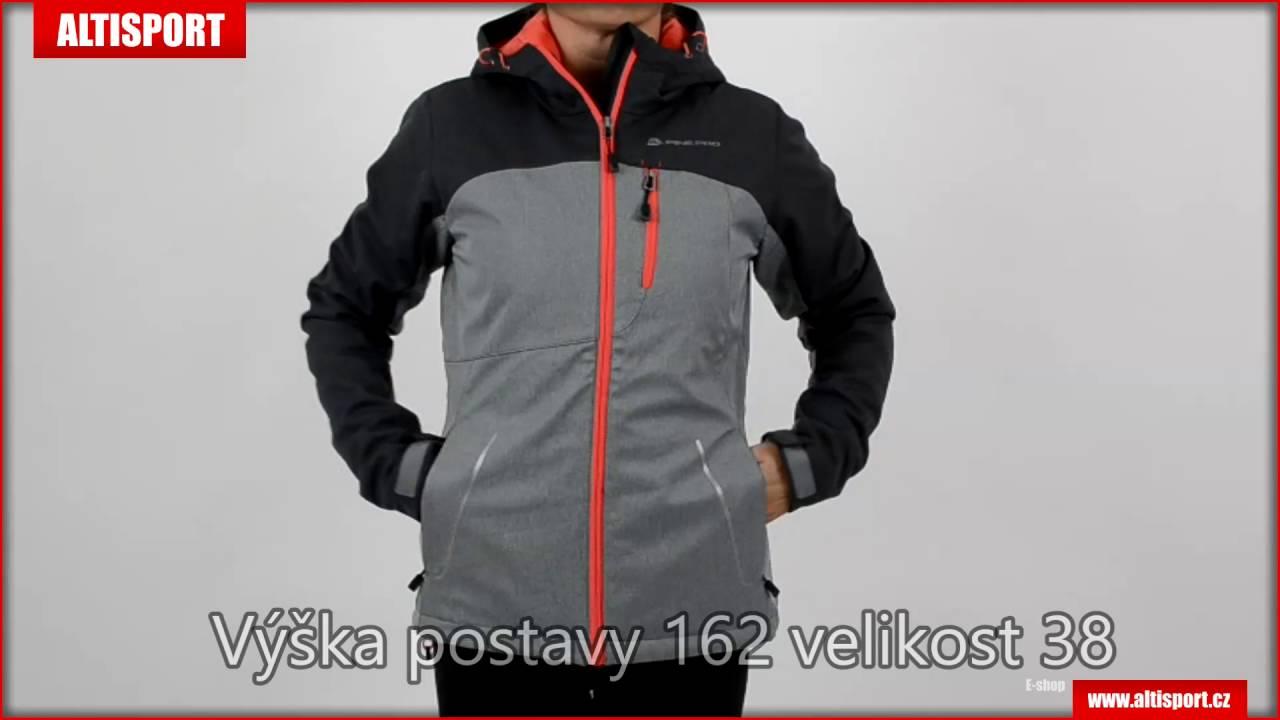 236335caecf dámská softshellová bunda alpine pro takha ins šedá - YouTube