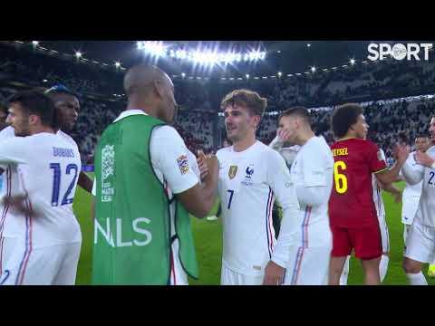 Belgium 2-3 France   Full-time scenes after a brilliant Nations League semi-final!
