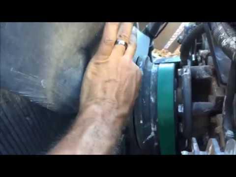 quick fix a fan clutch - YouTube