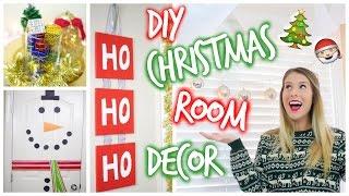 Diy Pinterest Inspired Christmas Room Decor ❄︎