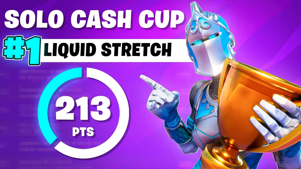How I Won The Solo Cash Cup and Broke The Point Record (1st) | Liquid STRETCH