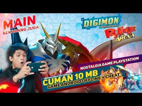 Cuman 10MB  Bisa Nostalgia Game Digimon Di Android - Semua Karakter Terbuka - OFFLINE
