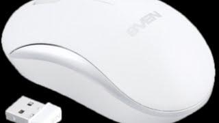 Беспроводная оптическая мышь SVEN RX 310