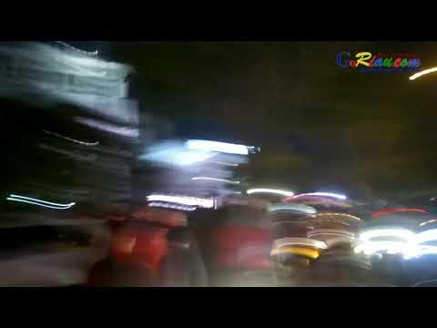 Ratusan Driver GoJek Pekanbaru mengamuk rusak taksi konvensional