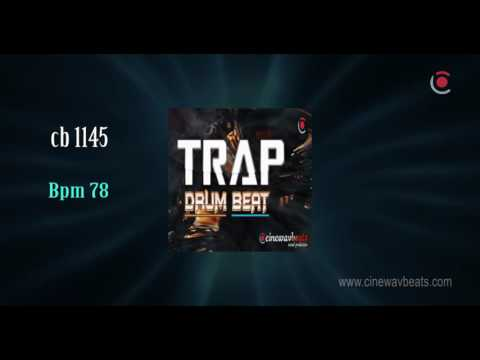 Trap Drum Beat bpm 78