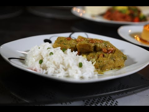 Swahili Fish Curry With Plantain by Aunt Bina's Kitchen