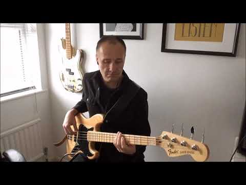 The Love I Lost (Harold Melvin and The Blue Notes) bass cover playalong