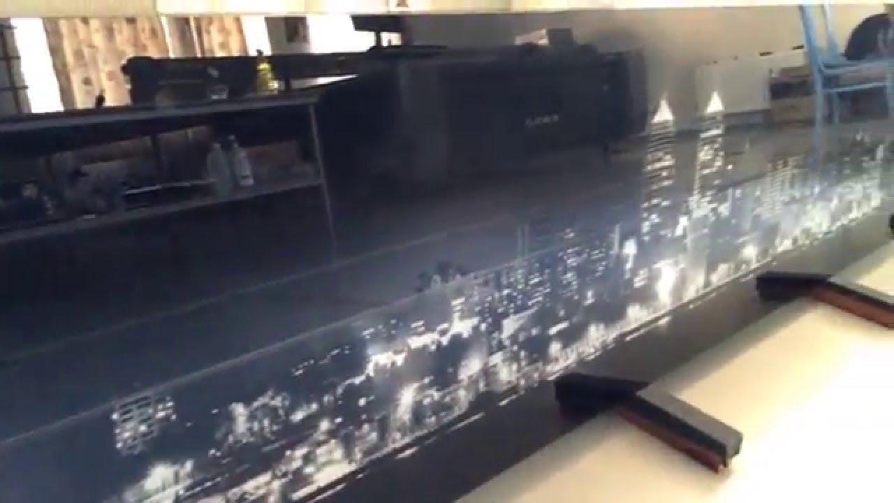 Уф-печать на стекле скинали UV print on glass skinali