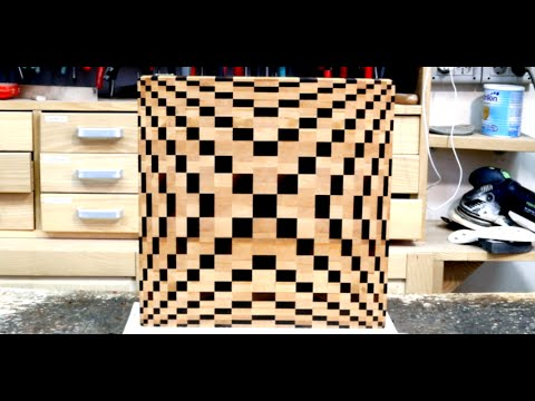3d end grain cutting board plans. making a 3d end grain cutting board #4 3d plans t