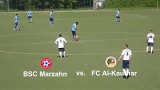 BSC Marzahn-FC Al-Kauthar, Kreisliga B 2018