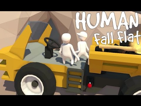Human Fall Flat - You Step on the Gas. I Drive. [Father and Son Gameplay]