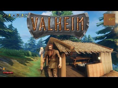Valheim - Open-world VIKING SURVIVAL Sandbox!! - Valheim Gameplay - Ep. 1