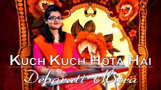 Kuch Kuch Hota Hai (Title Track)|| Electric Steel Guitar|| Debarati Mitra