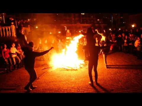 Армянский праздник Терендез. Город Одесса. 13.01.2015