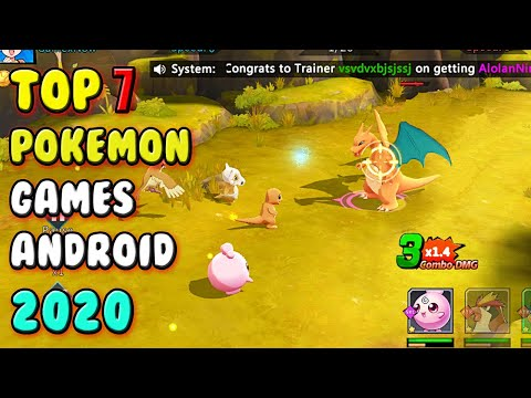Best Pokemon Games For Android 2020 ( ENGLISH )