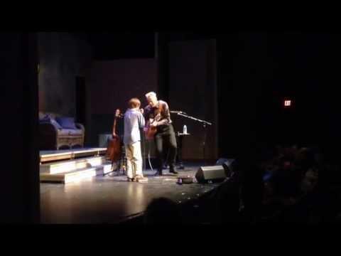11yr old Josh King and Tommy Emmanuel - Blues in My Sleep
