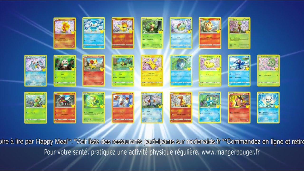 """Musique de la pub Happy Meal Mc Donald's """"50 cartes Pokemon et d'autres surprises"""" Pub 14s Mai 2021"""