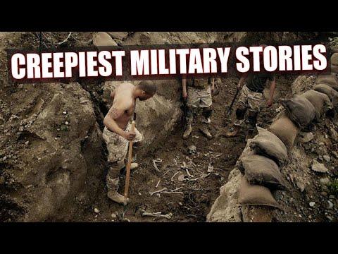 Top 10 creepiest military stories