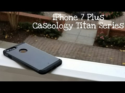 iPhone 7 Plus Caseology Titan Series Case Review!
