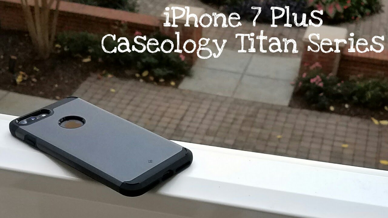 reputable site f7424 2e9f2 iPhone 7 Plus Caseology Titan Series Case Review!