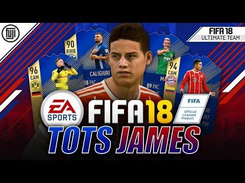 TOTS JAMES RODRIGUEZ!!! - FIFA 18 Ultimate Team
