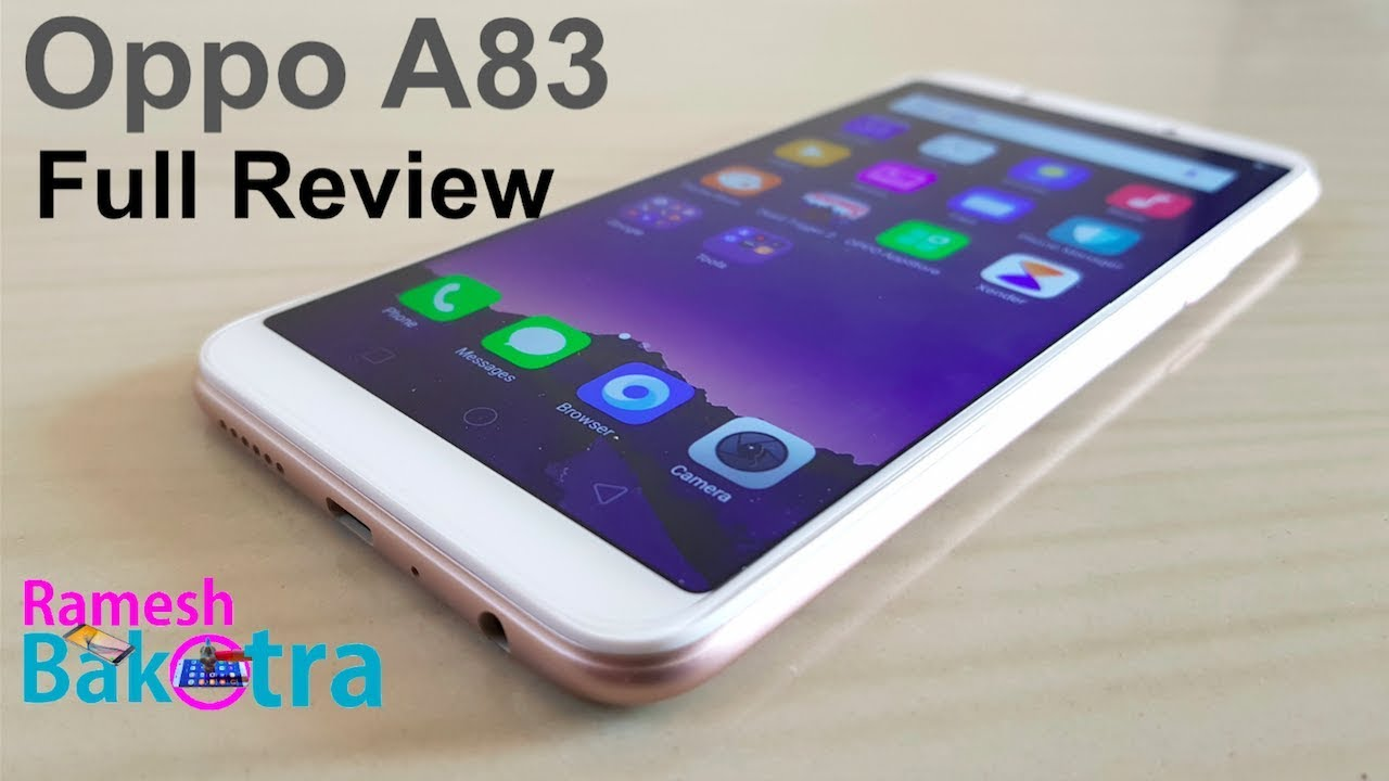 Oppo A83 (Gold, 3GB + 32GB)