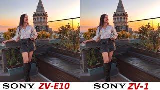 Sony ZV-E10 vs Sony ZV-1 Camer…