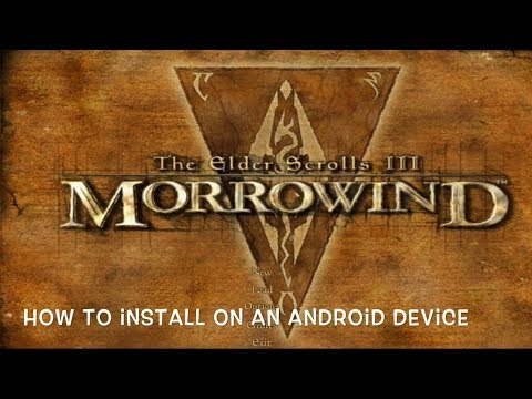 How to install Morrowind on an Android device  by Crash Gaming