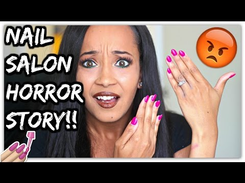 STORYTIME: NAIL SALON HORROR STORY (ACTUAL PROOF)!!| Kym Yvonne
