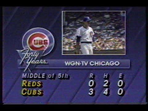 1988 MLB: Reds at Cubs 5/31/1988