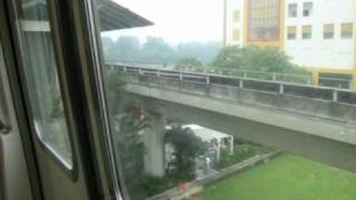 SMRT C151 099-100 - Train ride from Admiralty to Sembawang (Southbound)