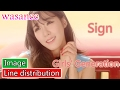 Girls' Generation/Snsd - Sign - Line Distribution (Color Coded Image)