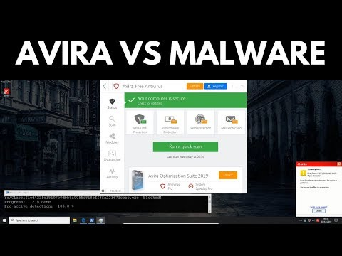 Avira Free Antivirus Review | Tested vs Malware