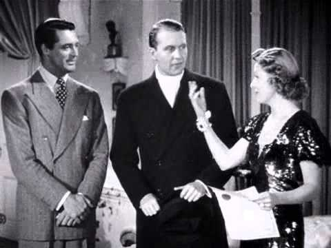 Cary Grant Annoys Irene Dunne In The Awful Truth