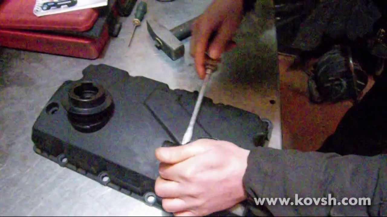 замена клапана вентиляции картерных газов audi a6 c5 1.9 tdi