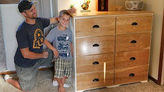 Modern DIY Dresser | Easy Build with 8 Drawers and TONS of storage!