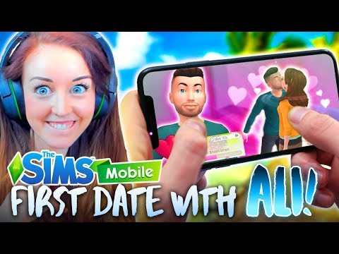 ALI JOINS THE GAME! 💑 (The Sims Mobile! #2 📱)