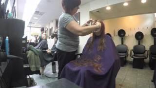 Getting My Hair Cut Emo!!!