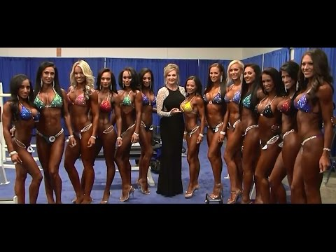 2015 Arnold Classic Women's Pump Up Room