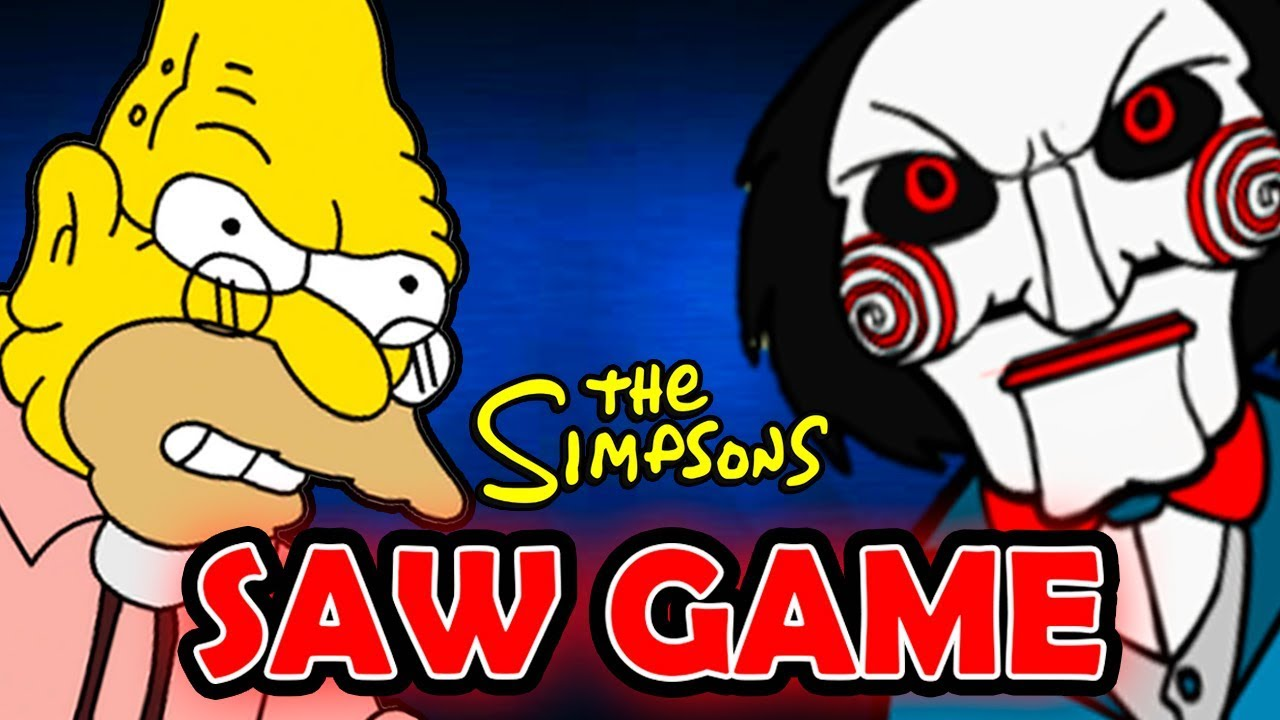 SIMPSONS SAW GAME | Abuelo Simpson Saw Game Parte 1 | ManoloTEVE