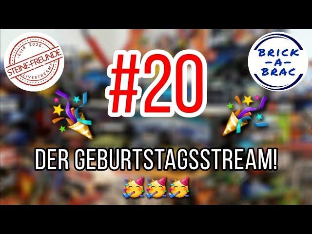 #20 - Harald's Geburtstagsstream mit vieeelen Gästen!