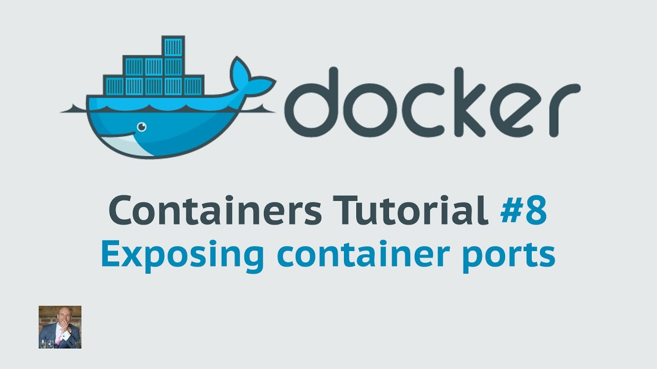 Docker Container Tutorial 20 Exposing container ports