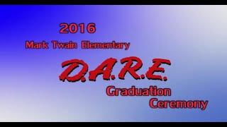 2016 Miamisburg Mark Twain Elementary D.A.R.E. Graduation