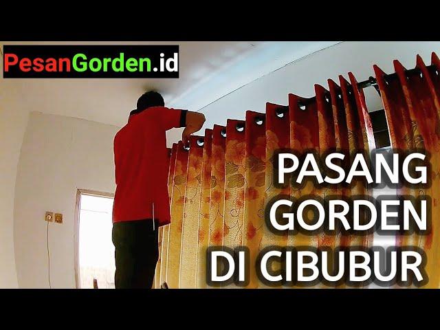 Cara Pasang Gordyn Korden Hordeng Di Cibubur Jakarta Timur 082310989451 #gudanggorden