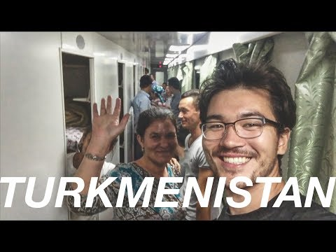 Turkmenistan (1/4): Crossing the border and making my way into the desert | The Long Road Ep. 34