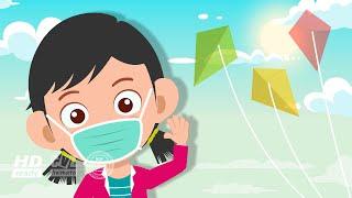 Lagu Anak Bermain Layang Layang ♪ Lagu Anak Anak Indonesia