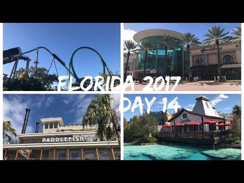 Walt Disney World & Florida 2017 Vlog - October 2017 - Day 14 - Islands Of Adventure, Disney Springs